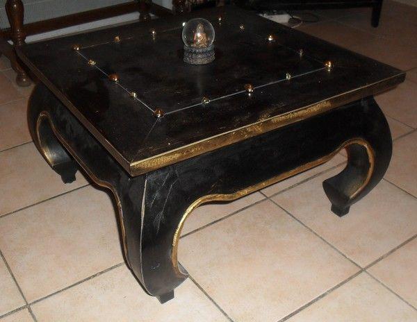 Meubles - Table basse repeinte ...