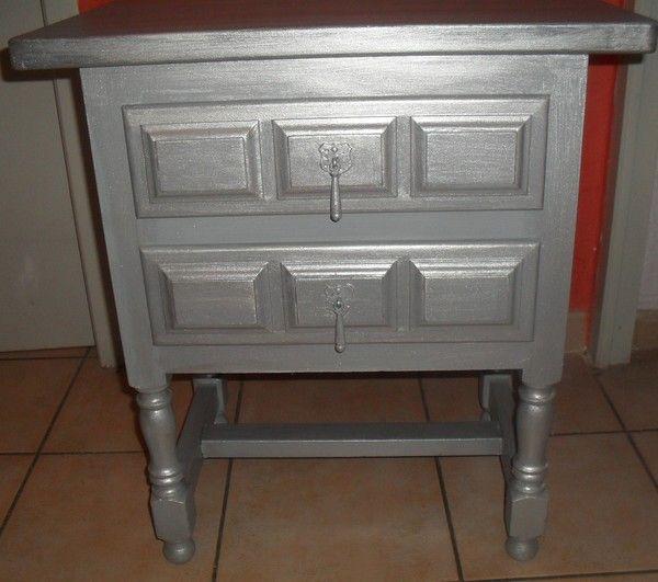 Meubles - Peindre meuble en gris ...