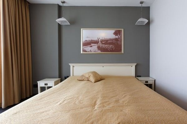 Decoration for Peinture chambre orange et gris